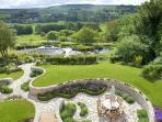 The award winning gardens