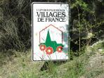L'entée du village de TOURTOUR,'le village dans le ciel'