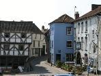 Axbridge town square