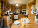 Windrush kitchen equipped with washing machine and dishwasher