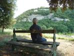 Relax and meditation bench (Belle Etoile)