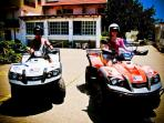 Rent a quad or scooter at our reception so you can discover the town and surroundings.