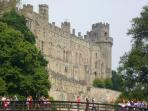 Enjoy a family day out at Warwick Castle, 12 miles away