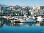Puerto Banus for its Markets, Shopping and Restaurants.