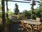 Jardín:Terraza este/sur
