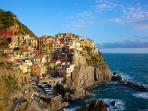 Cinque Terre: just a short train or ferry ride away