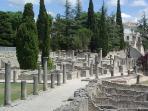 Vaison la Romaine, site archéologique, 20KMS