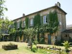 The Vienne and Charente Suites are in the annexe to the main house