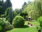 BBQ garden - extensive gardens with BBQ