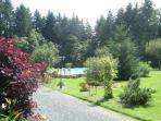 Gardens - Five acres of woodland and managed lawned garden