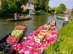 Visit Amiens and take a boat trip through the famous gardens
