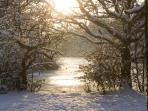 Connaught Water, Epping Forest in Winter