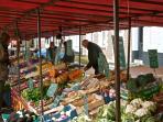 Le marché à Montreuil