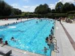 Local Lido Swimming pool in Belleme. 10 Mins walk from the house and ideal for the family