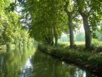 The beautiful Canal du Midi