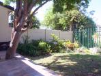 Patio and private garden