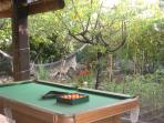 Pool Table on the Terrace