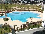 La Torre Swimming Pool - A great family pool as viewed from the apartments balcony