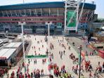 Rugby at the Millennium Stadium