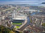the Millennium Stadium Cardiff
