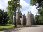 Castell Coch nearby