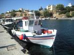 Fishing trips from the local harbour: tavernas will cook your catch of the day