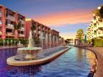 The Marrakesh Residence's 240 m pool