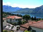Views of the Lake from the House towards Bellagio