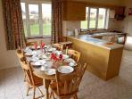 Kitchen/Dining room, Westpark Holiday Home.
