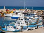 Agios Georgios fishing harbour