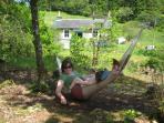 The hammock in summer!
