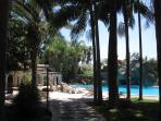 La Villa is splendidly surrounded by mediterranean palm trees, corinthia trees, tropical plants