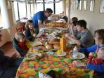 Ospiti a pranzo in Anticaia