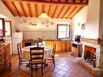 Podere Vignola - Loggia - Living Room