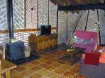 Detalle del salón de la Chimenea de Soria