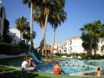 Acogedor apartamento con jardín en Peñíscola