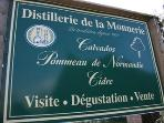 Calvados & cider tasting across the road from your house