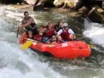Plenty of exciting whitewater rafting close by