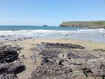 North coast beaches. All 30 minutes, Polzeath Tingatgel, watergate, Trebawith Strand, Fistral