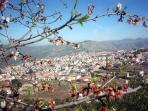 Road side View - Castillo de Locubin
