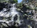 Cascada de la Zambrana. Entorno de Erías.