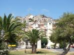Famous Old Town of Scalea (Centro Storico).