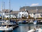 Maritime House in the ultra-exclusive Port Pendennis Marina, Falmouth