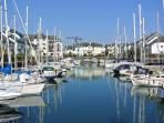 Port Pendennis Marina is a secure gated environment with reserved parking and 24 hour security