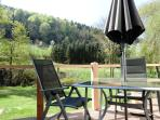 Ihr Sonnensüdbalkon mit unverbautem Blick in die Sauerländer Bergwelt