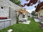 Private garden, perfect for al fresco meals