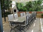 Al-fresco dining and BBQ (vine covered)