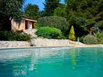 Beautifully rustic villa with private pool and breathtaking views in Provence