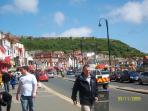 Scarborough forshore road promenade