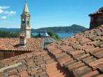 The tower bell of San Rocco church from the terrace